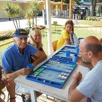 BACKGAMMON ON THE BEACH dal 24 al 27 agosto